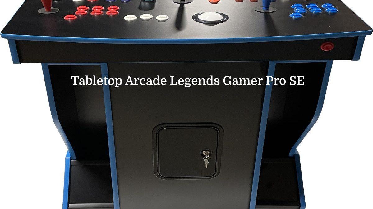 Tabletop Arcade Legends Gamer Pro SE
