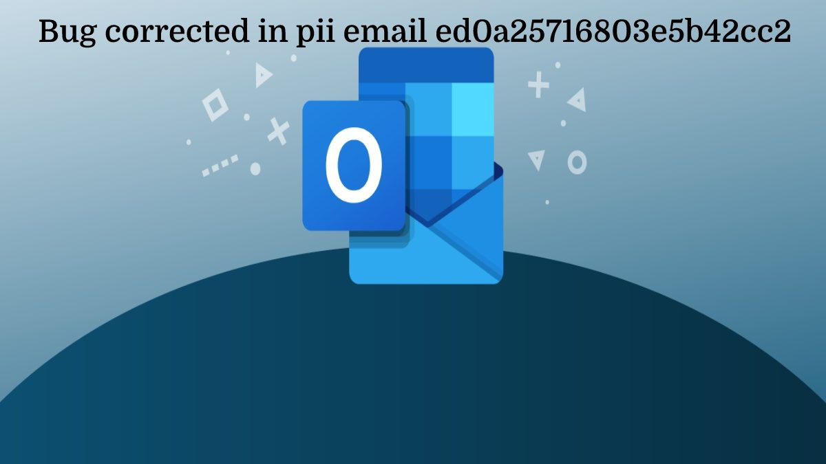 Bug corrected in pii email ed0a25716803e5b42cc2